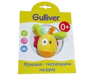 """Игрушка-погремушка на руку """"Жираф"""",Gulliver (Гулливер)"""