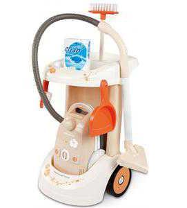 Тележка для уборки с пылесосом Smoby (Смоби)