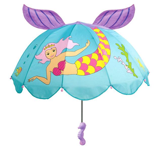 Зонт-трость детский Kidorable (Кидорабл) Русалочка