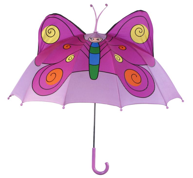Зонт-трость детский Kidorable (Кидорабл) Бабочка