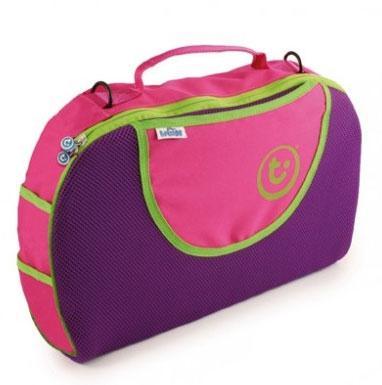 Сумка для чемодана-каталки розовая Trunki (Транки)