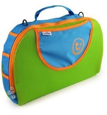 Сумка для чемодана-каталки голубая Trunki (Транки)