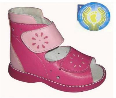 "Летние ботинки для девочки, ФДО ""Скороход""."