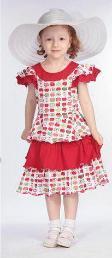 """Платье """"Яблочки"""" Cherubino (Черубино)"""