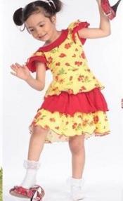 "Платье ""Цветочки на желтом"" Cherubino (Черубино)"