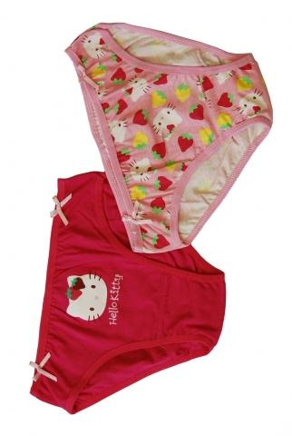 "Трусы для девочки (2 шт.) на вешалке ""Hello Kitty"" от ТД Эльдорадо"