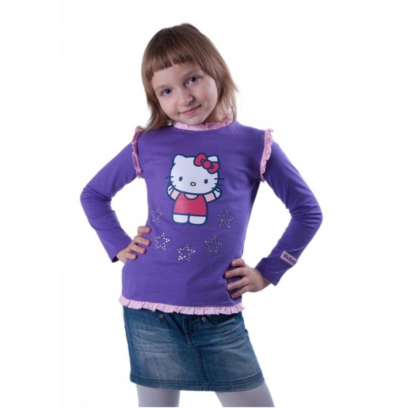 """Джемпер для девочки """"Hello Kitty"""" от ТД Эльдорадо"""