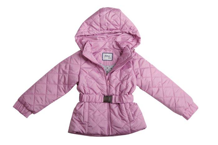 Куртка для девочки, розовая, Gulliver (Гулливер)