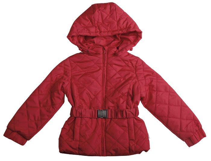 Куртка для девочки, красная, Gulliver (Гулливер)