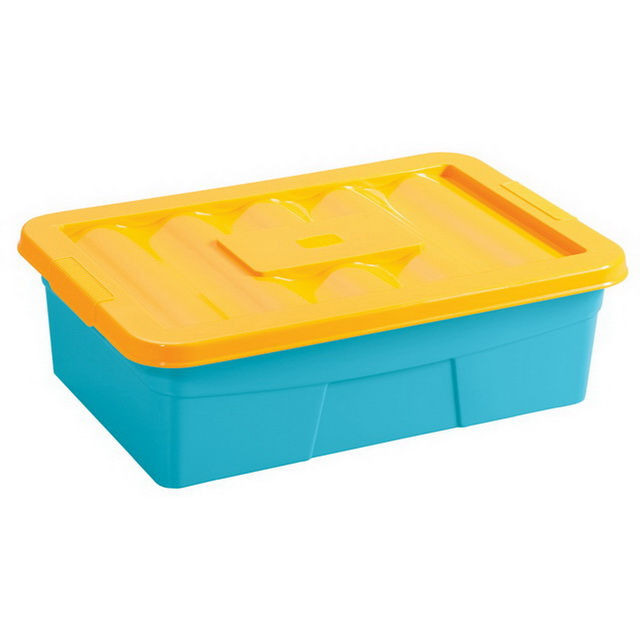 Ящик для игрушек на колесах Бытпласт