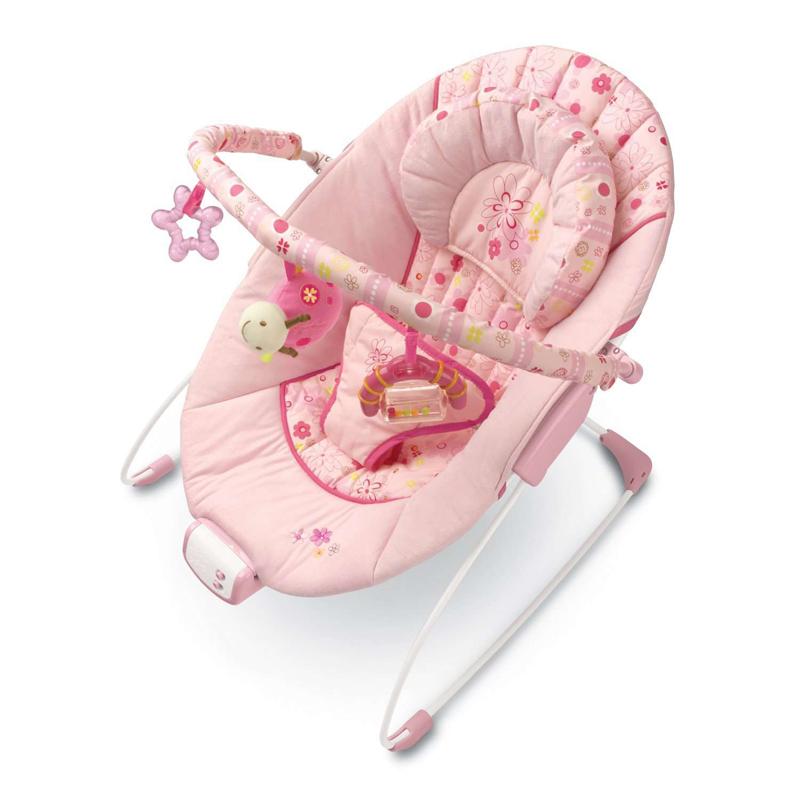 """Кресло-качалка """"Розовые сны"""", Bright Starts (Брайт Стартс)"""