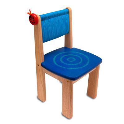 Деревянный стульчик (голубой) Im Toy (Ай эм той)