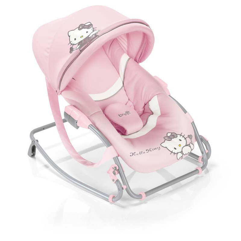 Кресло-качалка Baby Rocker розовая Brevi (Бреви)