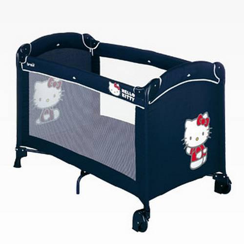 Кроватка-манеж Dolce Nanna Plus синяя Brevi (Бреви)