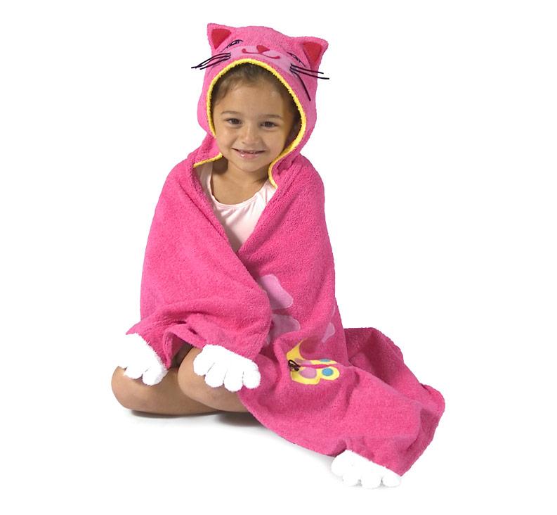 Полотенце Kidorable (Кидорабл) Счастливая Кошечка