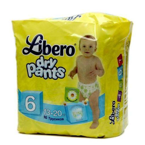 Трусики Libero Dry Pants (Либеро Драй Пэнтс) Экстра Лардж, 16 шт.