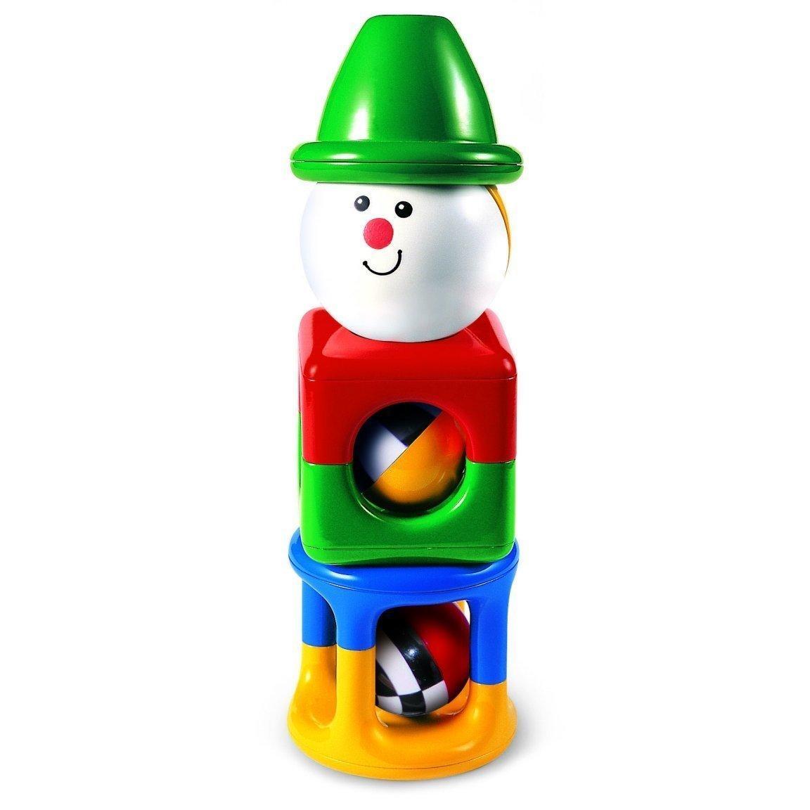"""Квадратная пирамидка """"Клоун""""Tolo Toys (Толо Тойз)"""
