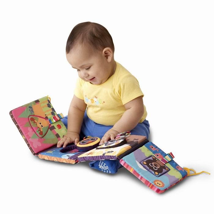 """Развивающая игрушка """"Книжка-пазл"""" Learning Curve (Ленинг Курв)"""