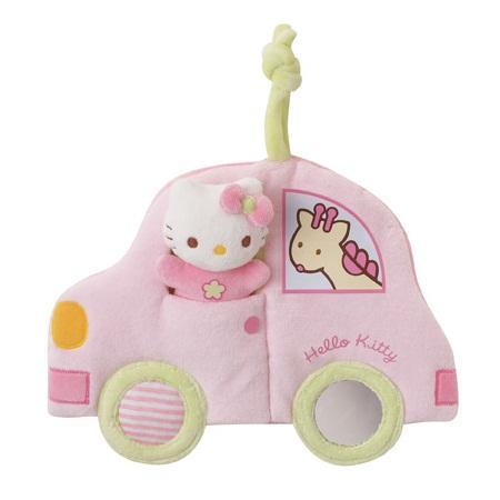 Мягконабивная машинка Hello Kitty, Jemini (Джемини)