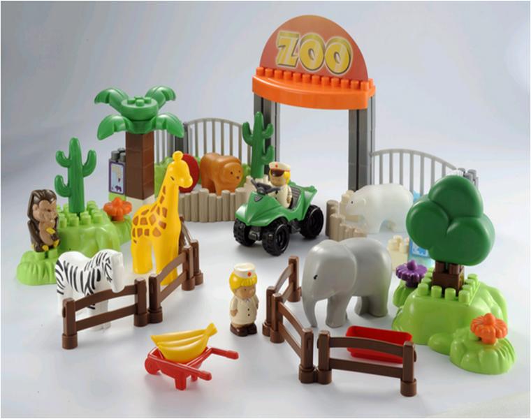 """набор фигурок """"Сафари парк"""" Ecoiffier (Экойфер)"""