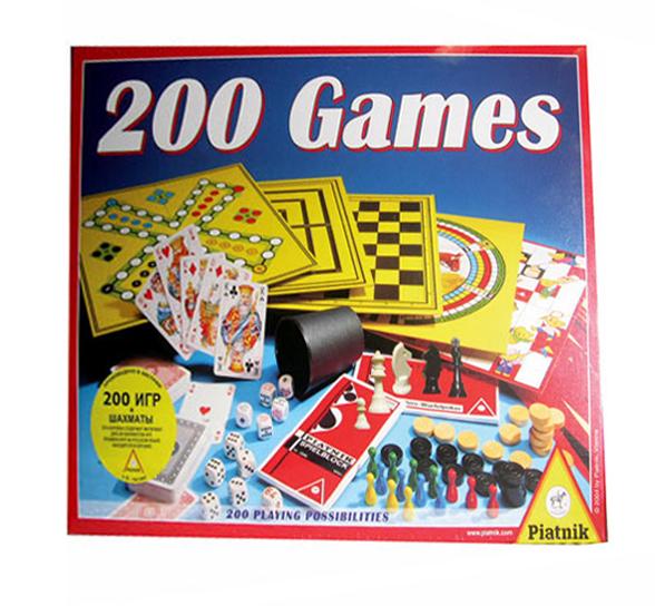 200 игр: шахматы Piatnik (Пиатник)