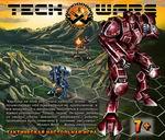 Тактическая настольная игра Techwars Битва в горах