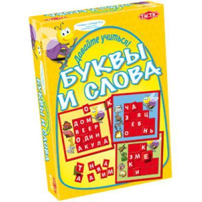 """Настольная игра """"Учим буквы и слова"""" Tactic (Тактик)"""