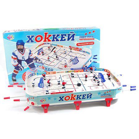 """Настольная игра """"Хоккей Евролига Чемпионов"""" Joy Toy (Джой Той)"""