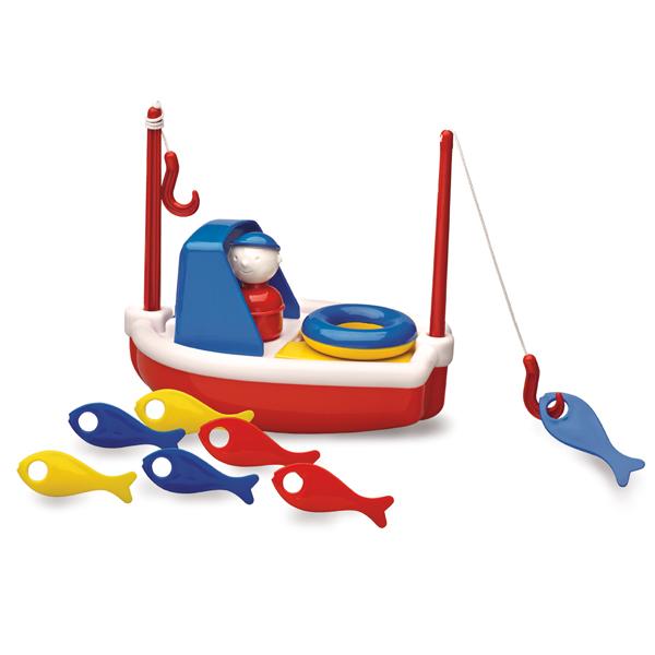 Набор для ванны Рыбацкая лодка Ambi Toys (Эмби Тойс)