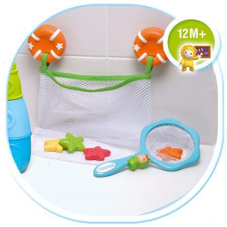 Набор для купания: рыбалка и сеточка для игрушек Smoby (Смоби)