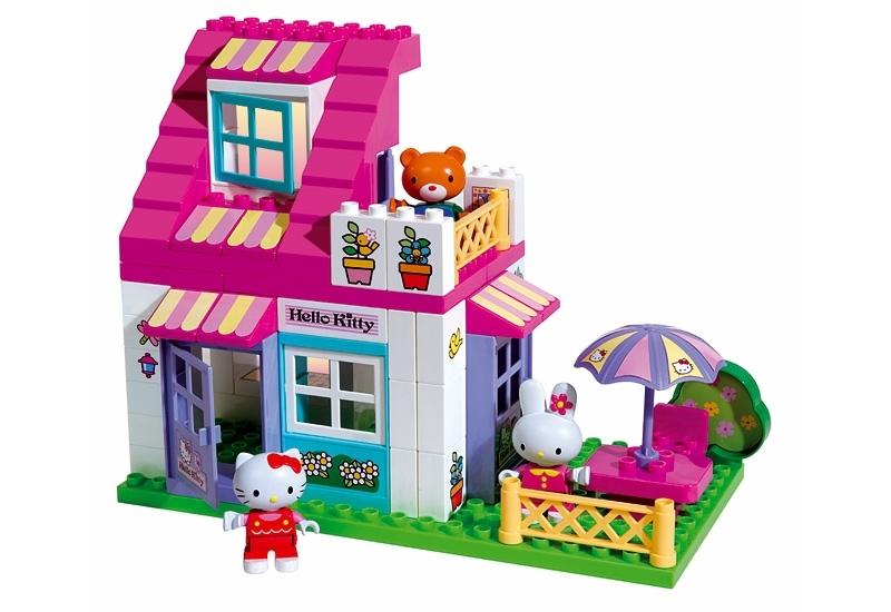 Конструктор Домик Hello Kitty, UNICO PLUS