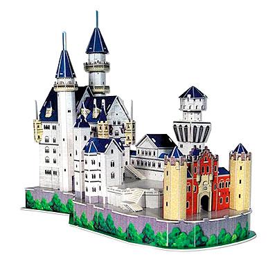 "3D-пазл ""Замок Нойшванштайн"" CubicFun (КубикФан)"