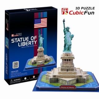 "3D-пазл ""Статуя Свободы (Нью-Йорк)"" CubicFun (КубикФан)"