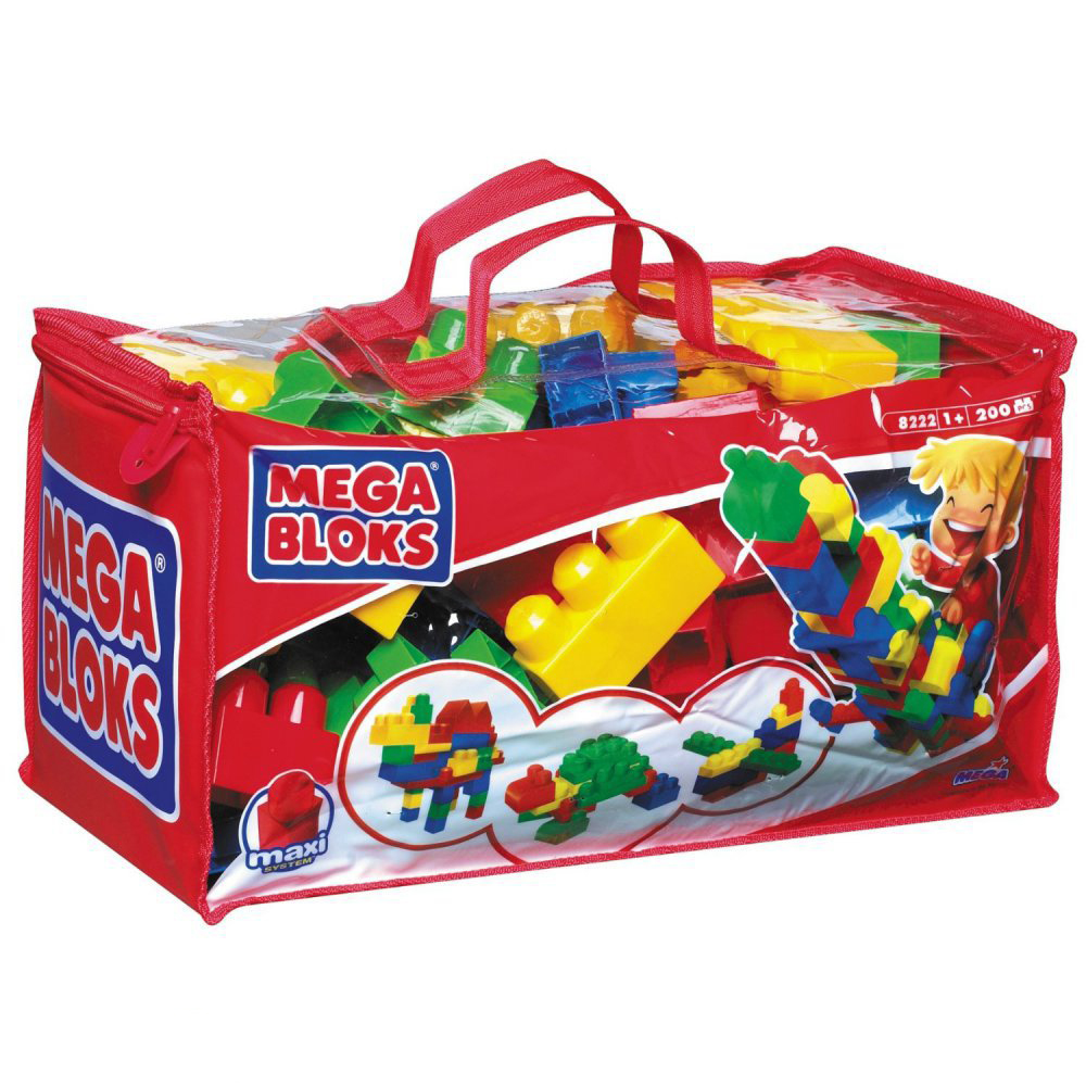 Сумка 200 деталей Mega Bloks (Мега Блокс)