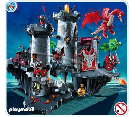 Большой замок дракона Playmobil (Плеймобил)
