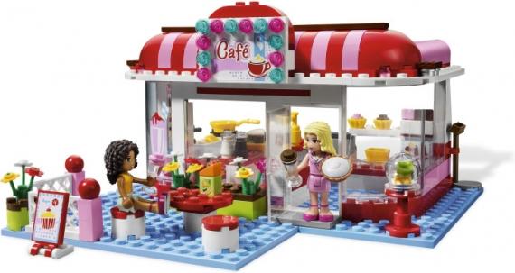 Кафе в городском парке Lego Friends (Лего Подружки)