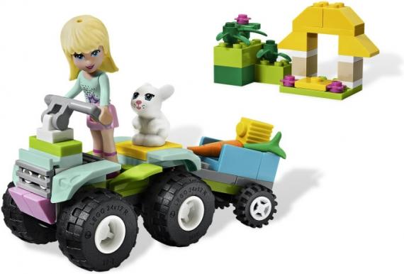 Стефани на квадроцикле Lego Friends (Лего Подружки)