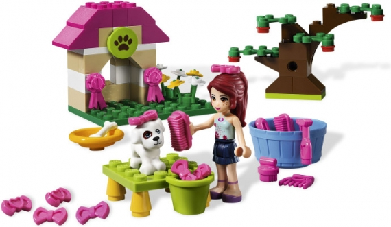 Мия и её щенок Lego Friends (Лего Подружки)