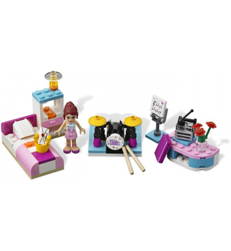 Комната Мии Lego Friends (Лего Подружки)
