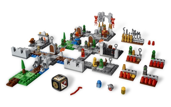 Замок Фортан Героика Lego Games (Лего настольные игры)