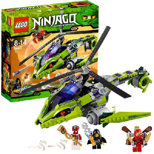 Змеиный вертолёт Lego Ninjago (Лего Ниндзяго)