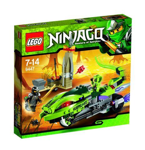 Ниндзяго Лаша на мотоцикле Lego Ninjago (Лего Ниндзяго)