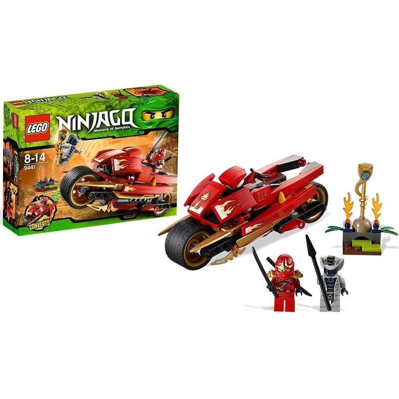 Мотоцикл Кая Lego Ninjago (Лего Ниндзяго)