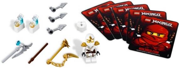 Ниндзяго Зейн ZX Lego (Лего)