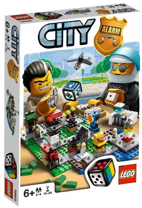 Переполох в LEGO городе Lego Games (Лего Игры)