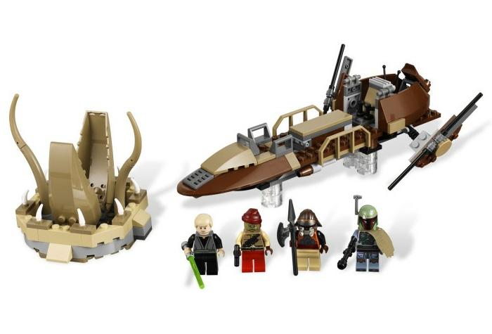Пустынный скиф Lego Star Wars (Лего Звездные Войны)