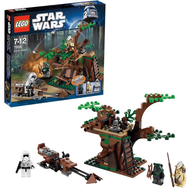 Атака Эвоков Lego Star Wars (Лего Звездные войны)
