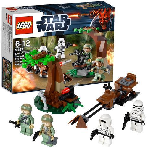 Повстанцы на Эндоре и штурмовики Империи Lego Star Wars (Лего Звездные войны)