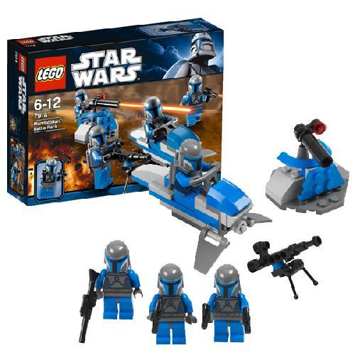 Боевой отряд Мэндэлориан Lego Star Wars (Лего Звездные войны)
