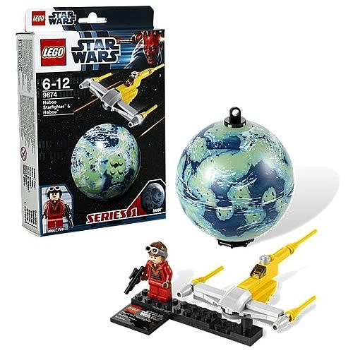 Истребитель Набу и планета Набу Lego Star Wars (Лего Звездные войны)